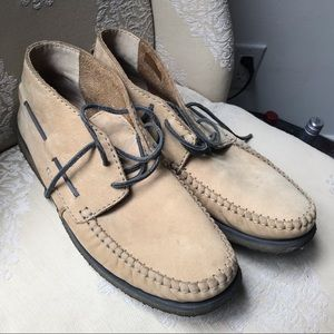 Clarks Moccasin Chukka with crepe soles sz 12